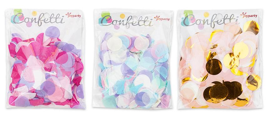 버블컨페티 러블리 결혼식 종이 꽃가루 - 파티마트, 3,500원, 파티용품, 데코/장식용품